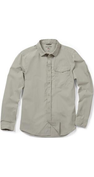 Craghoppers NosiLife Pro Lite overhemd en blouse lange mouwen Heren beige
